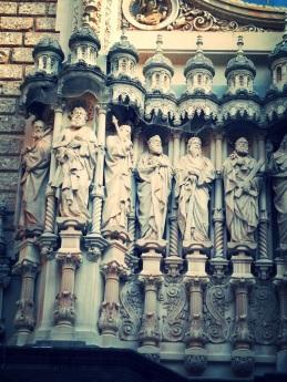 Montserrat Monastery, Barcelona, Spain