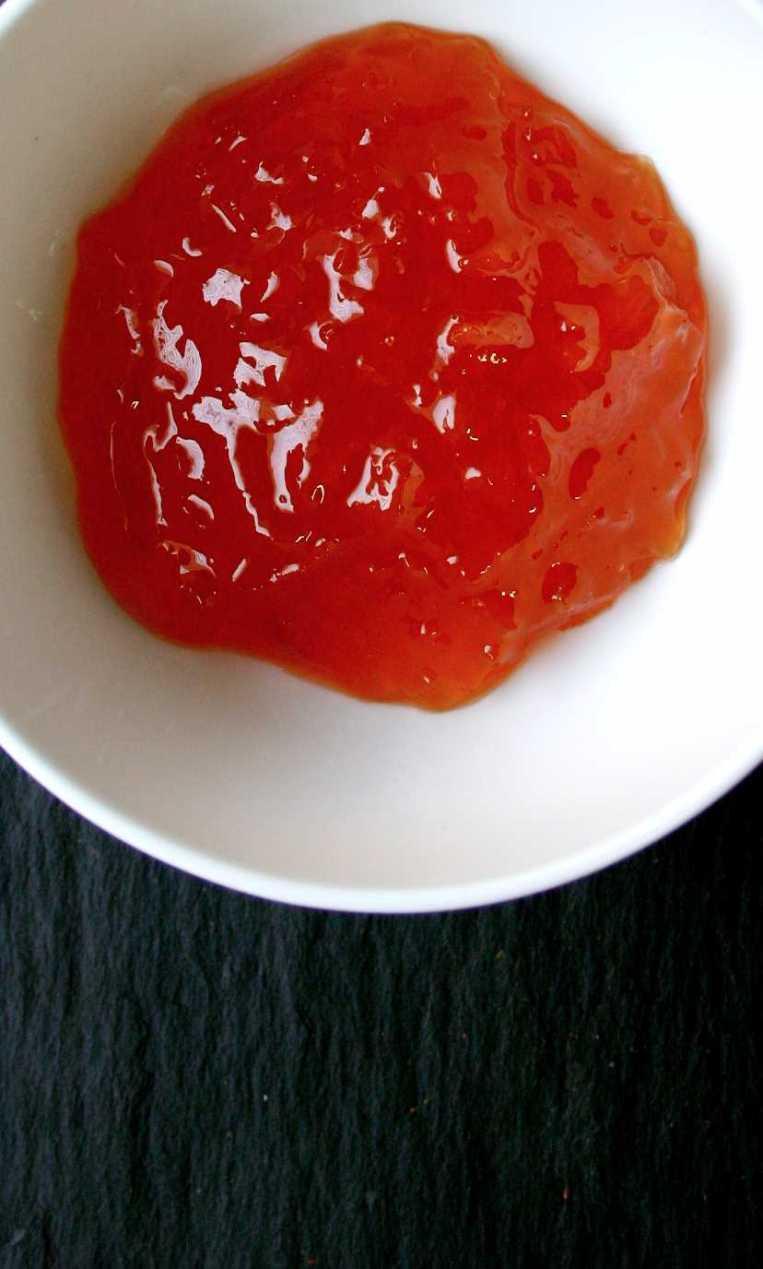 Chutney- Chunky peach jam