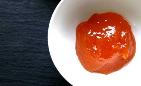 Chutney- Smooth apricot jam