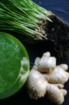 Green juice | wheat grass and ginger