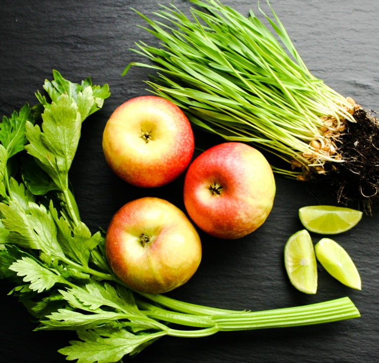 The Good Greeff-Green Juice ingredients