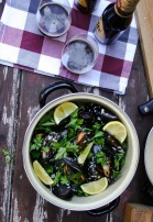 The Good Greeff - Marseille mussels with a creamy white wine sauce