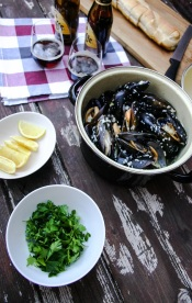 The Good Greeff- Marseille mussels ready to dress