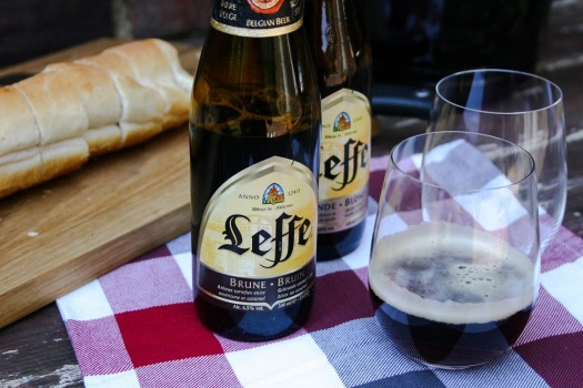 The Good Greeff -Leffe Brune and Marseille mussles