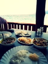Anse Soleil fish & seafood curries