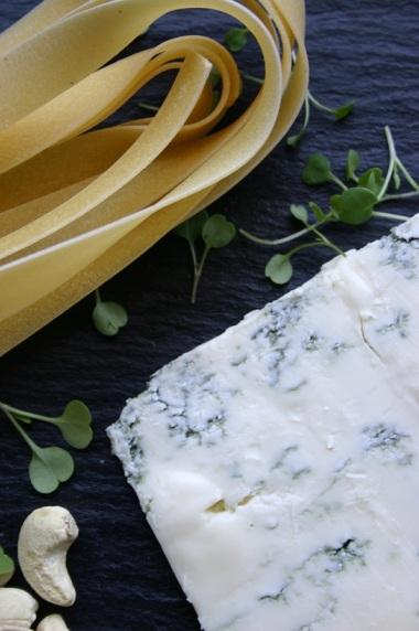 Gorgonzola Cheese & Pappardelle Pasta