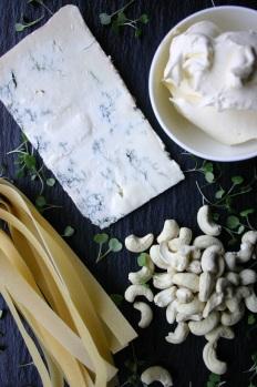 Gorgonzola Pasta with Cashews