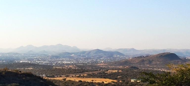 TheGoodGreeff - Heroes Acre view of Windhoek