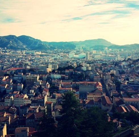 TheGoodGreeff Marseille view from Notre Dame de la Garde