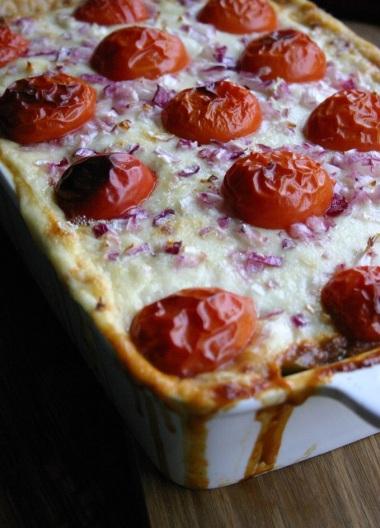 TheGoodGreeff mixed vegetable moussaka detail