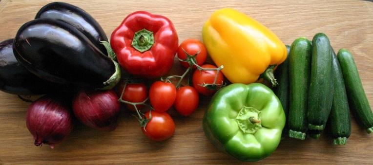 TheGoodGreeff mixed vegetable moussaka ingredients 5