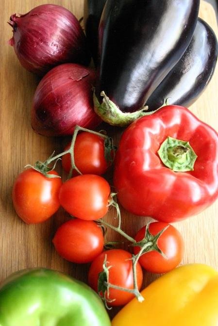 TheGoodGreeff mixed vegetable moussaka ingredients 6