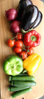 TheGoodGreeff mixed vegetable moussaka ingredients 7