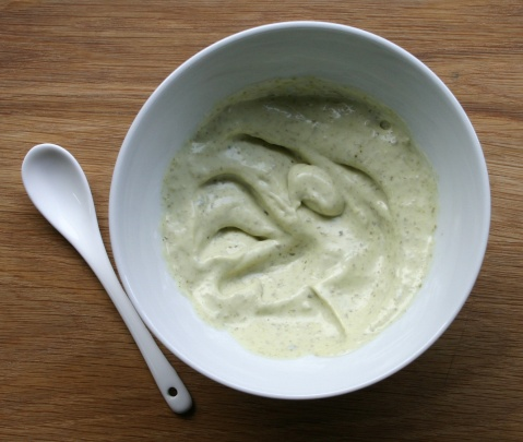 TheGoodGreeff Quinoa bowl - pesto mayonnaise