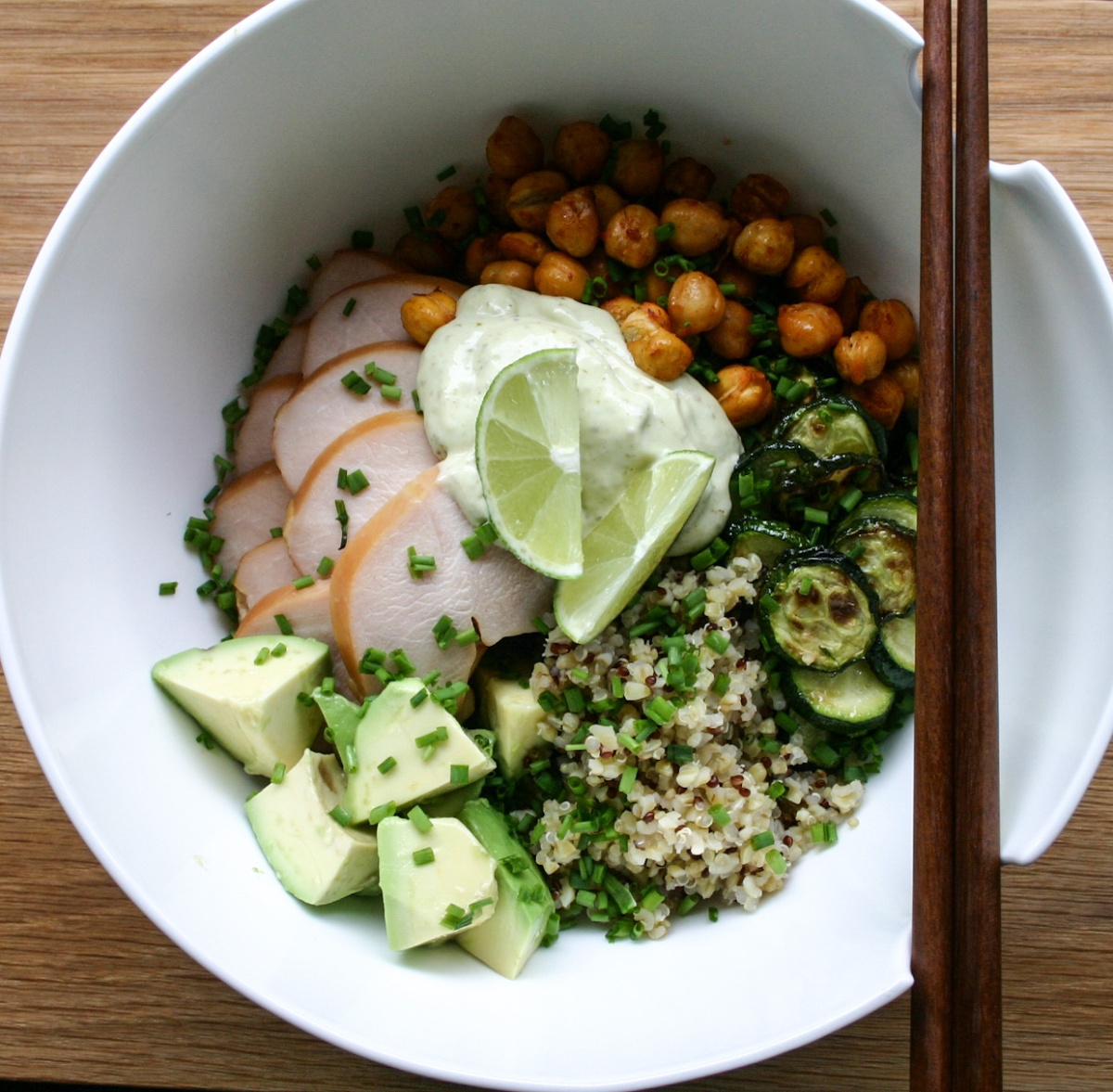 Smoked Chicken Quinoa Bowl – the good greeff