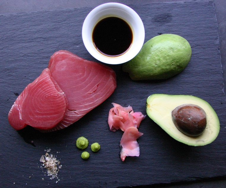 TheGoodGreeff Tuna Sashimi Ingredients 2