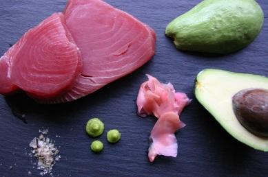 TheGoodGreeff Tuna Sashimi Ingredients 3