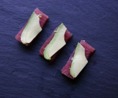 TheGoodGreeff Tuna Sashimi with Wasabi and Avocado