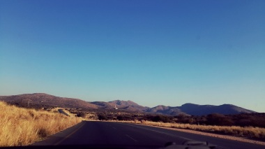 Views of Windhoek | Heading South