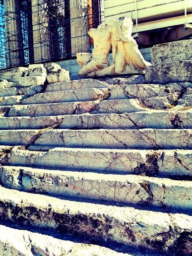 Acropolis under construction