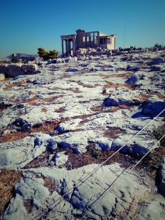 Ancient Athens, the old temple of Athena