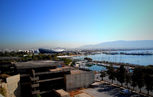 The Athens stadium