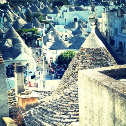 The UNESCO trulli zone in Alberobello
