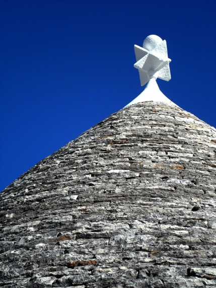 Trulli house conical roof