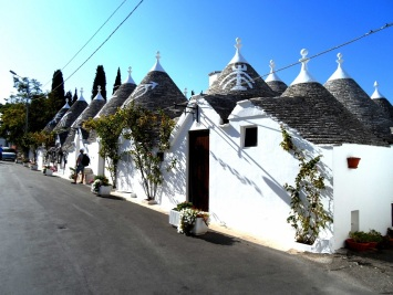 The trulli houses of Alberobello