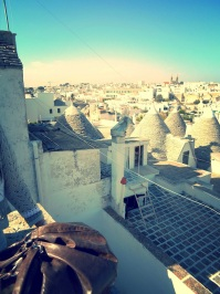 The trulli houses of Alberobello