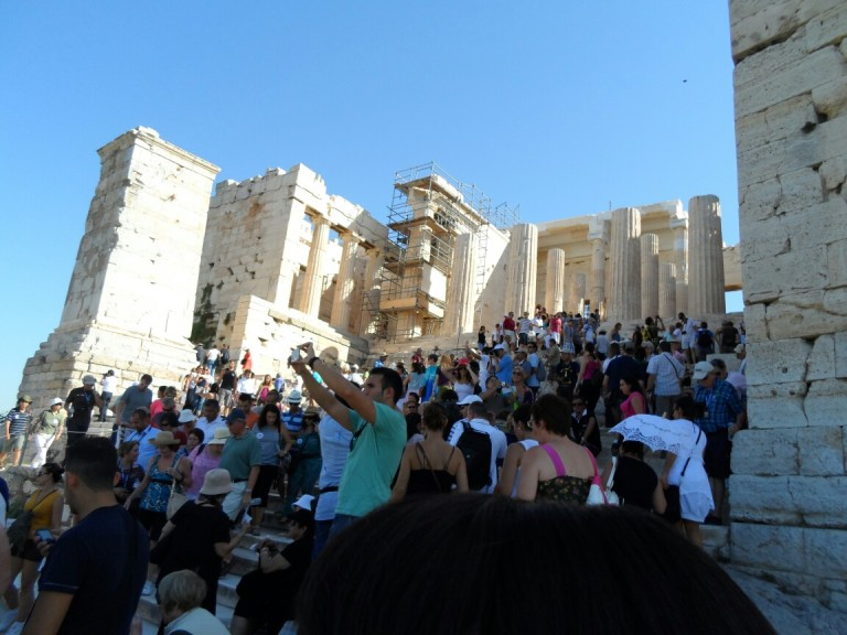 The truth about being a tourist, Acropolis, Athens, Greece- thegoodgreeff.jpg