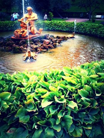 Peterhof Gardens and Fountains