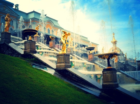 Peterhof Grand Palace and Grand Cascade