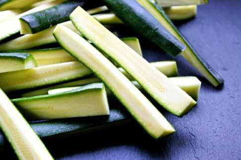 Zucchini fingers