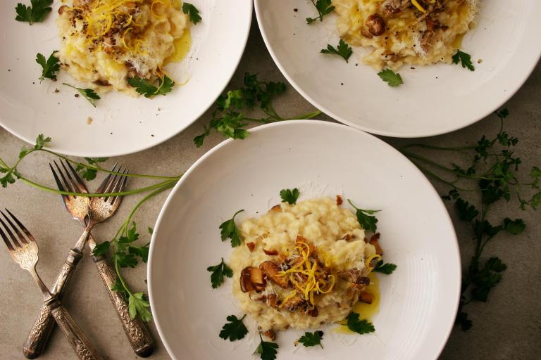 Shiitake truffle risotto with lemon-the good greeff.jpg