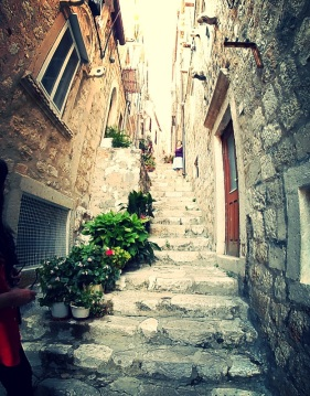 Getting lost in Dubrovnik