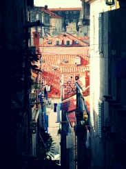 The red clay views of Dubrovnik