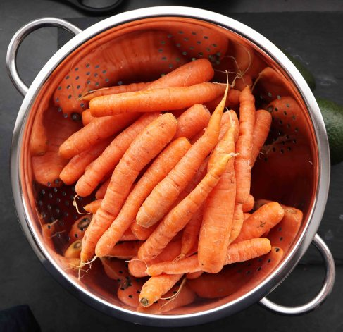 organic carrots for juicing