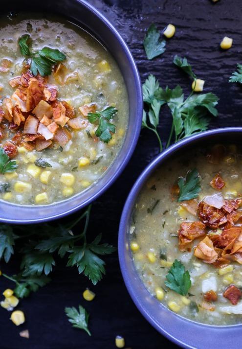 TheGoodGreeff Potato Sweet Corn and Leek Soup-21