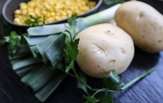 TheGoodGreeff Potato Sweet Corn and Leek Soup-4