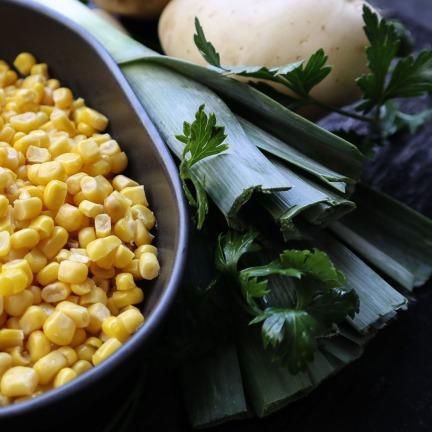 TheGoodGreeff Potato Sweet Corn and Leek Soup-6