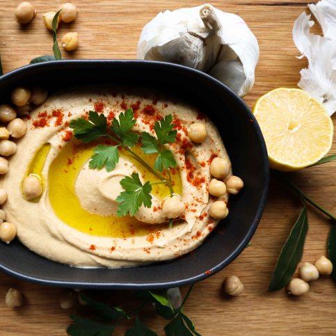 TheGoodGreeff Israeli Hummus
