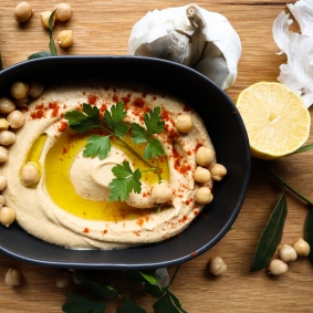 TheGoodGreeff- Israeli Hummus -4